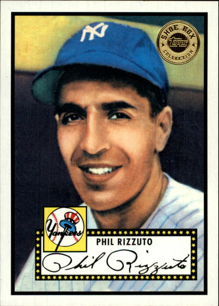 2003 Topps Shoebox #4 Phil Rizzuto