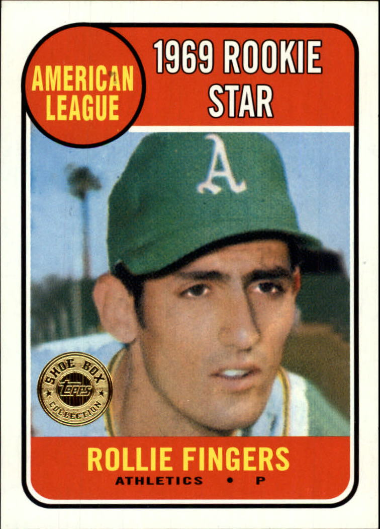 2003 Topps Shoebox #41 Rollie Fingers