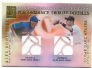 2003 Topps Tribute Contemporary Performance Double Relics #RG Alex Rodriguez Jsy/Nomar Garciaparra Jsy