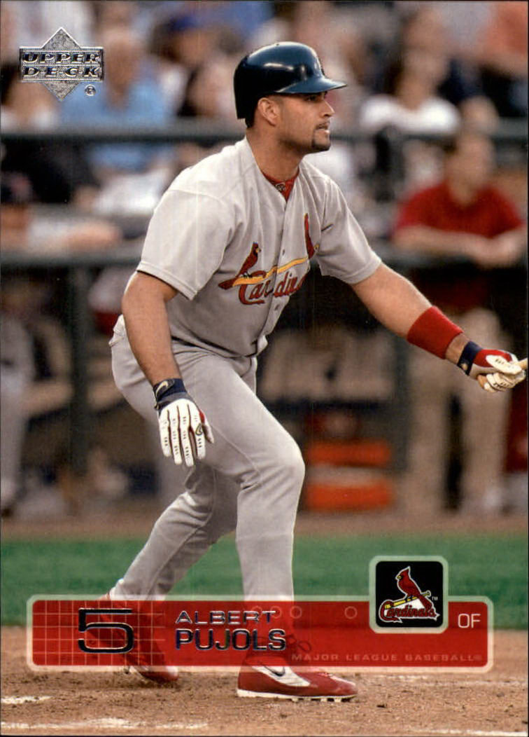 2003 Upper Deck #160 Albert Pujols