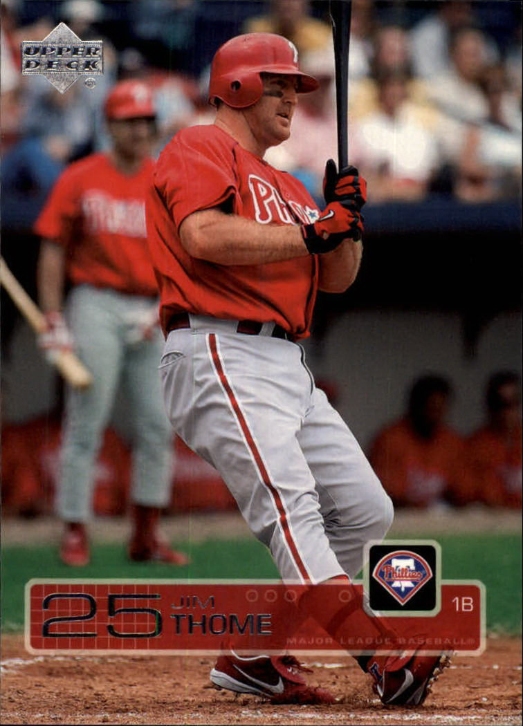 2003 Upper Deck #472 Jim Thome