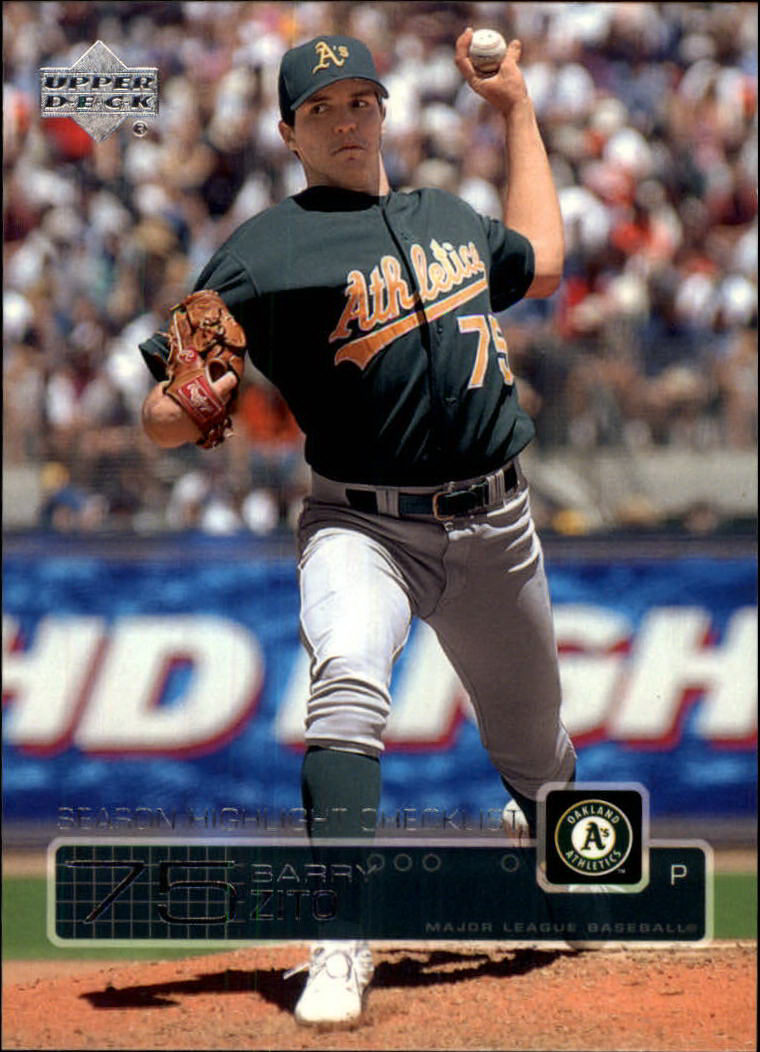 2003 Upper Deck #536 Barry Zito SH CL