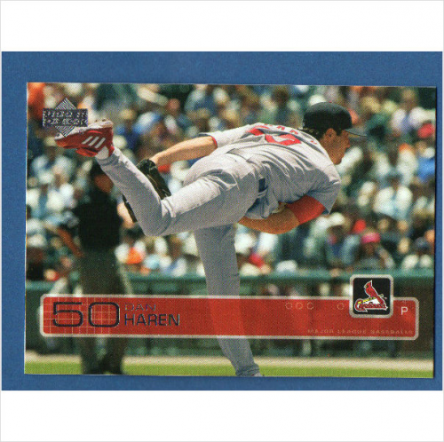 2003 Upper Deck #542 Dan Haren RC