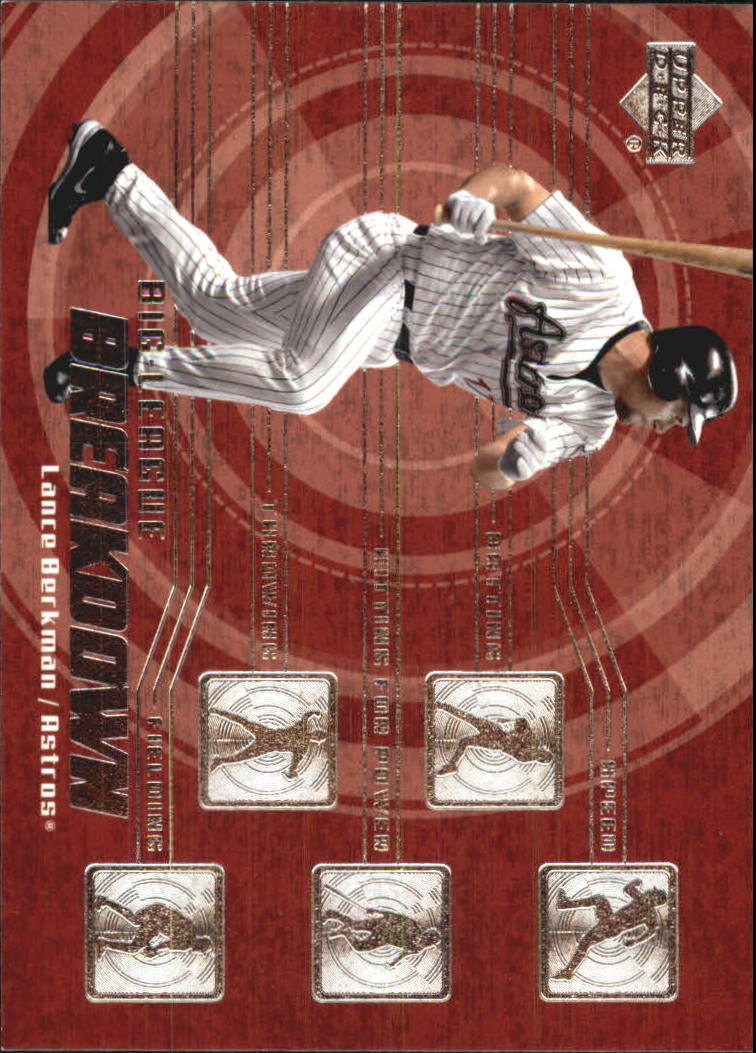 2003 Upper Deck Big League Breakdowns #BL8 Lance Berkman