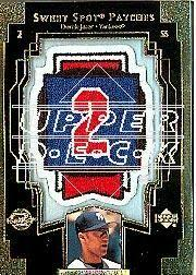 2003 Sweet Spot Patches #DJ1 Derek Jeter
