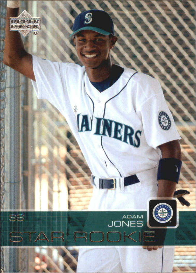 2003 Upper Deck Prospect Premieres #7 Adam Jones XRC