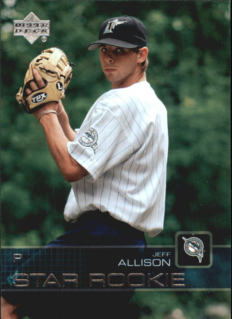 2003 Upper Deck Prospect Premieres #37 Jeff Allison XRC