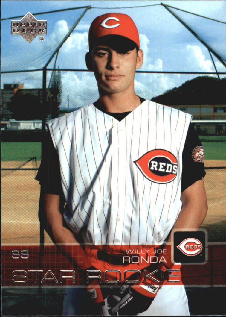 2003 Upper Deck Prospect Premieres #63 Willy Jo Ronda XRC