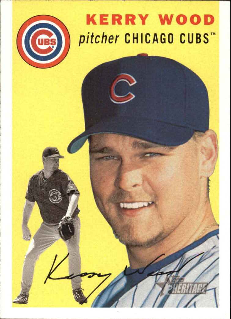 2003 Topps Heritage #327 Kerry Wood