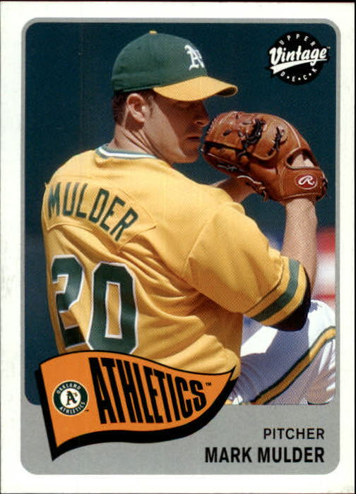 2003 Upper Deck Vintage #19 Mark Mulder
