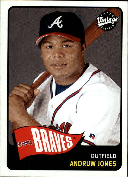 2003 Upper Deck Vintage #33 Andruw Jones