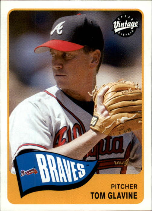 2003 Upper Deck Vintage #34 Tom Glavine