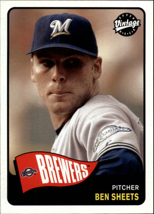 2003 Upper Deck Vintage #40 Ben Sheets