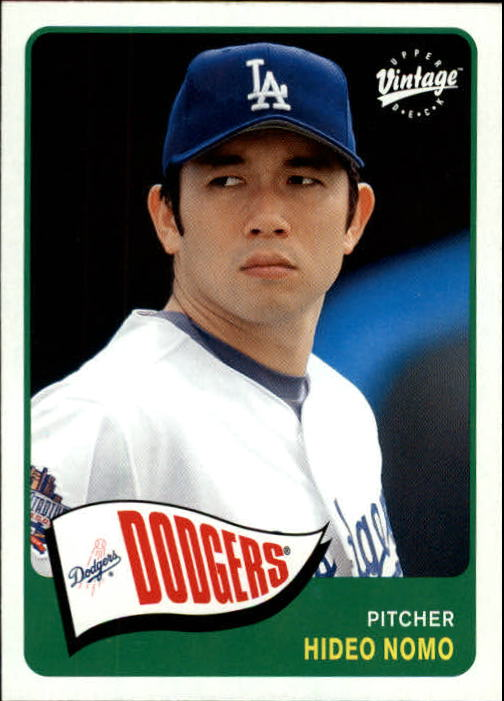 2003 Upper Deck Vintage #78 Hideo Nomo