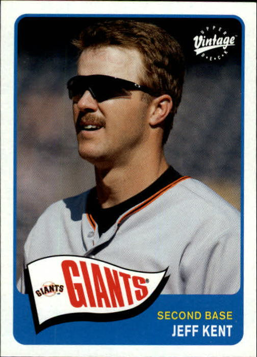 2003 Upper Deck Vintage #92 Jeff Kent