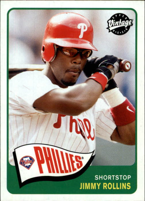 2003 Upper Deck Vintage #141 Jimmy Rollins