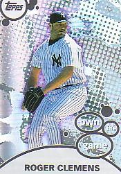 2003 Topps Own the Game #OG27 Roger Clemens