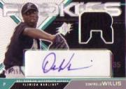 2003 SPx Young Stars Autograph Jersey #DW Dontrelle Willis/355