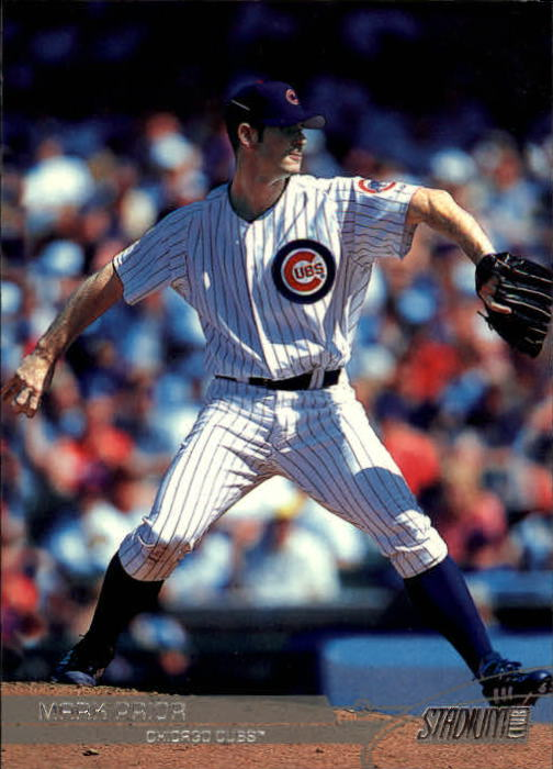 2003 Stadium Club #22 Mark Prior