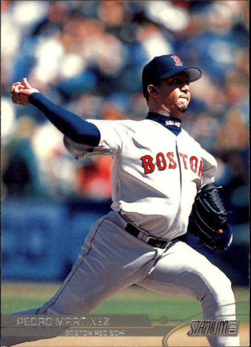 2003 Stadium Club #45 Pedro Martinez
