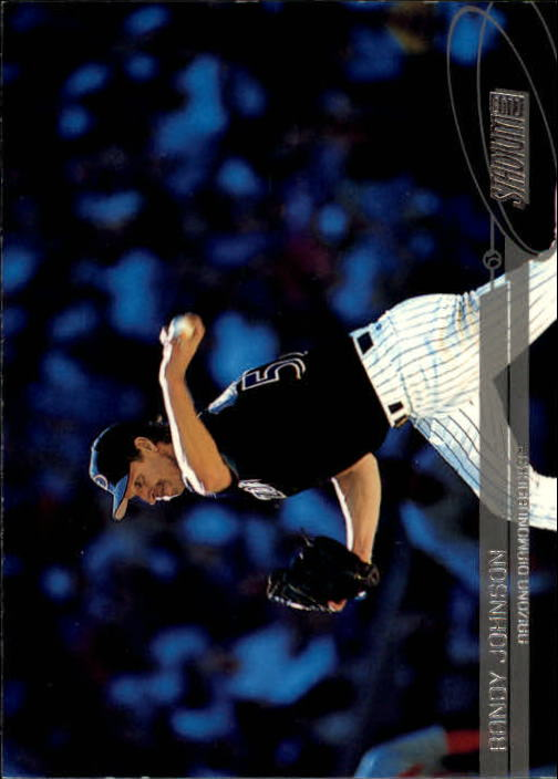 2003 Stadium Club #51 Randy Johnson