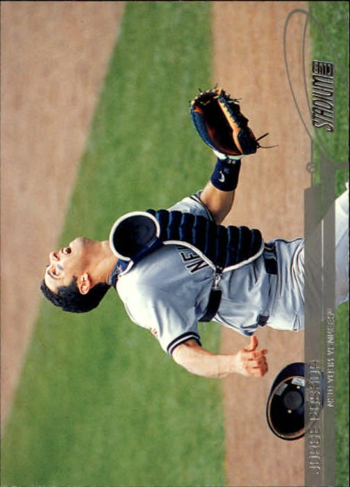 2003 Stadium Club #69 Jorge Posada