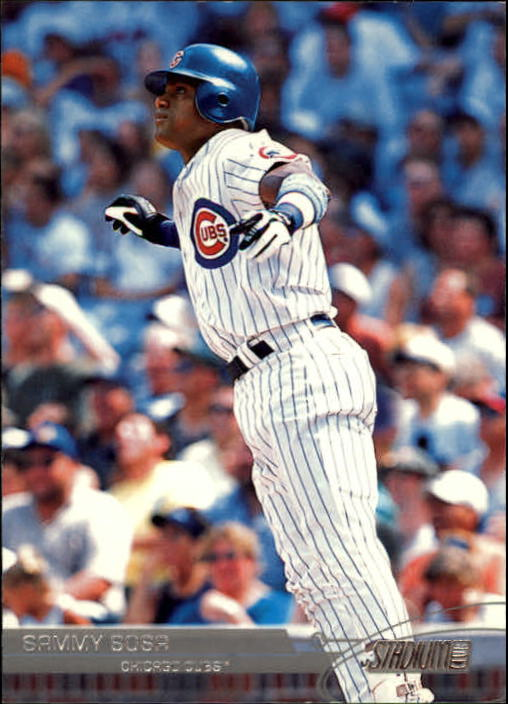 2003 Stadium Club #99 Sammy Sosa