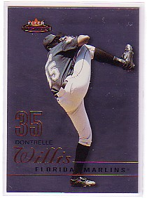 2003 Fleer Mystique #36 Dontrelle Willis