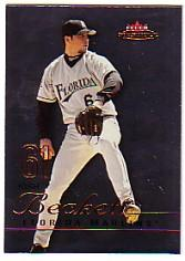 2003 Fleer Mystique #59 Josh Beckett