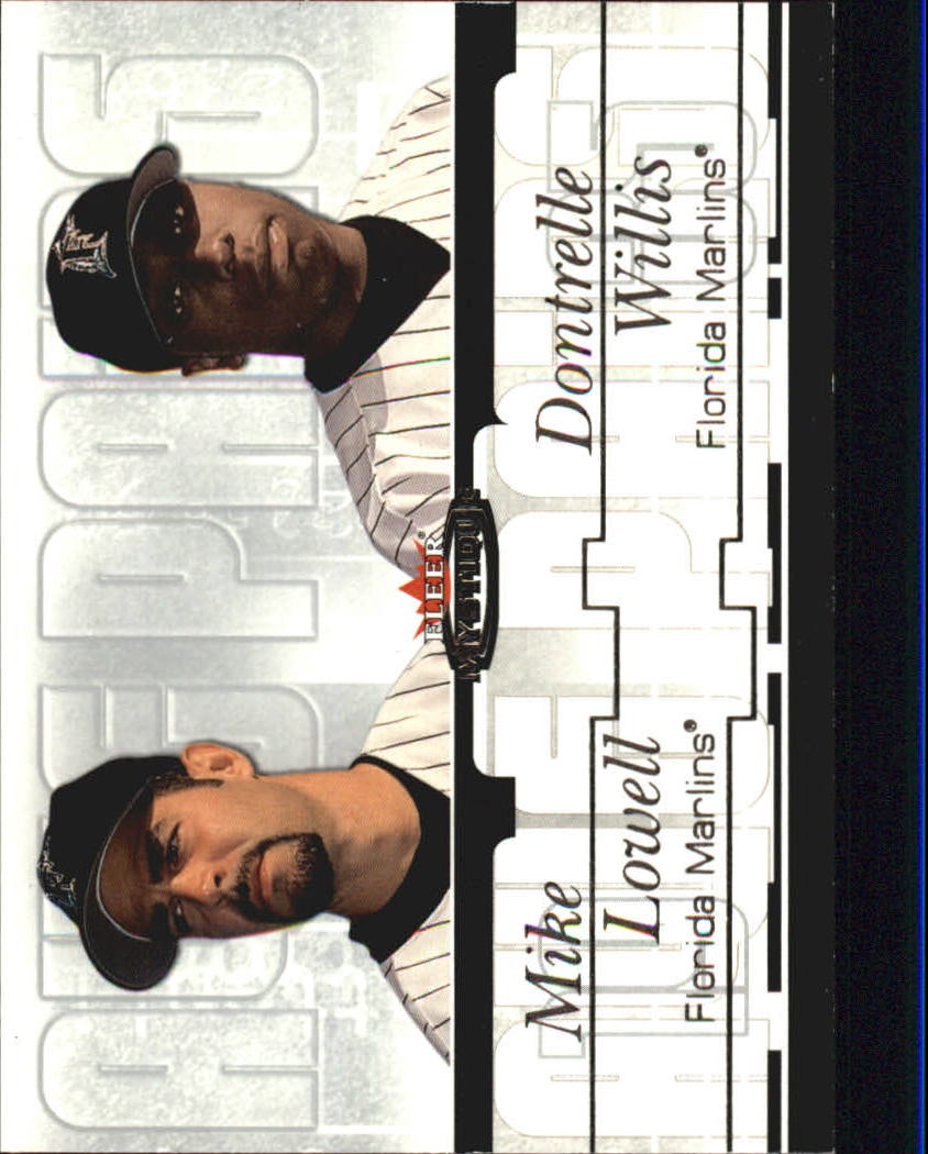 2003 Fleer Mystique Awe Pairs #9 D.Willis/M.Lowell