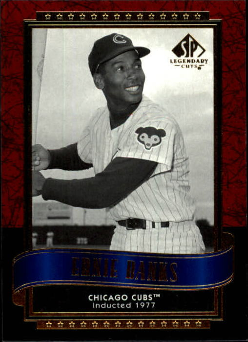2003 SP Legendary Cuts #4 Ernie Banks