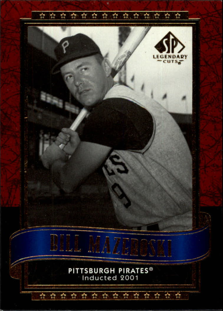 2003 SP Legendary Cuts #9 Bill Mazeroski