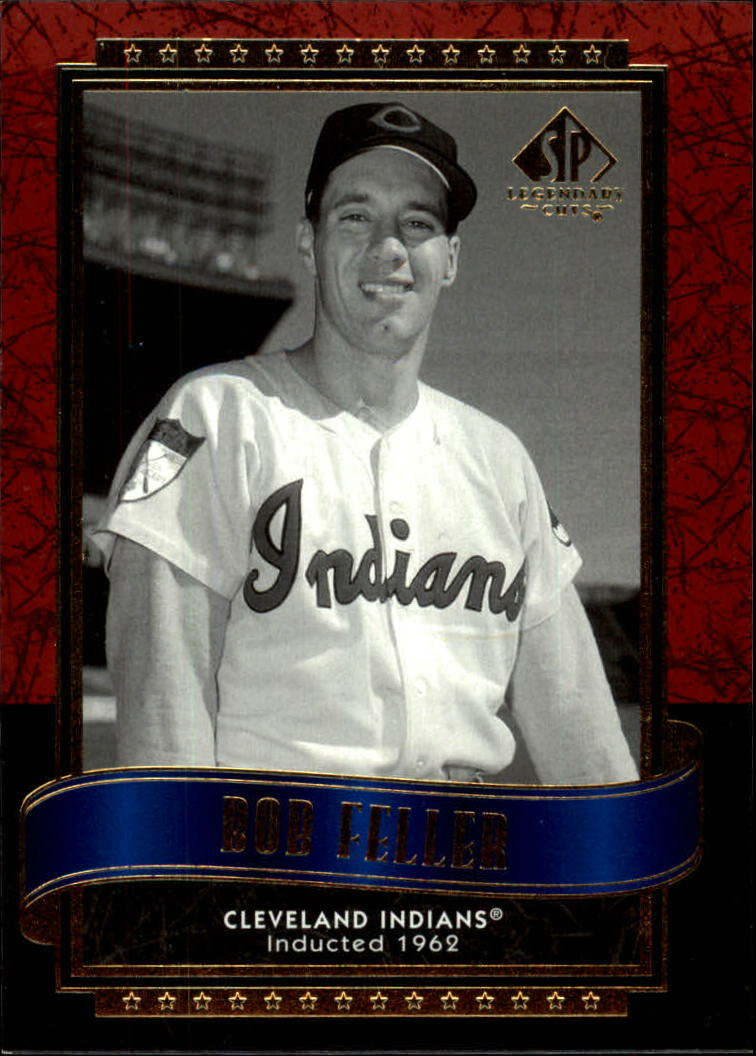 2003 SP Legendary Cuts #10 Bob Feller