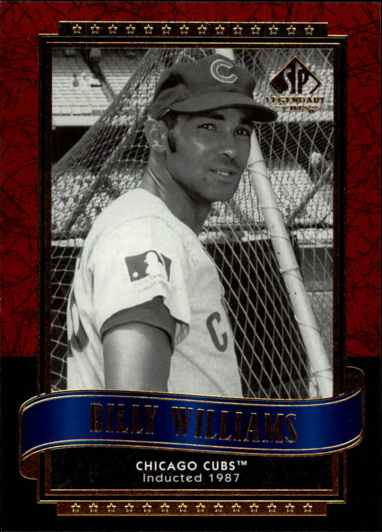 2003 SP Legendary Cuts #12 Billy Williams