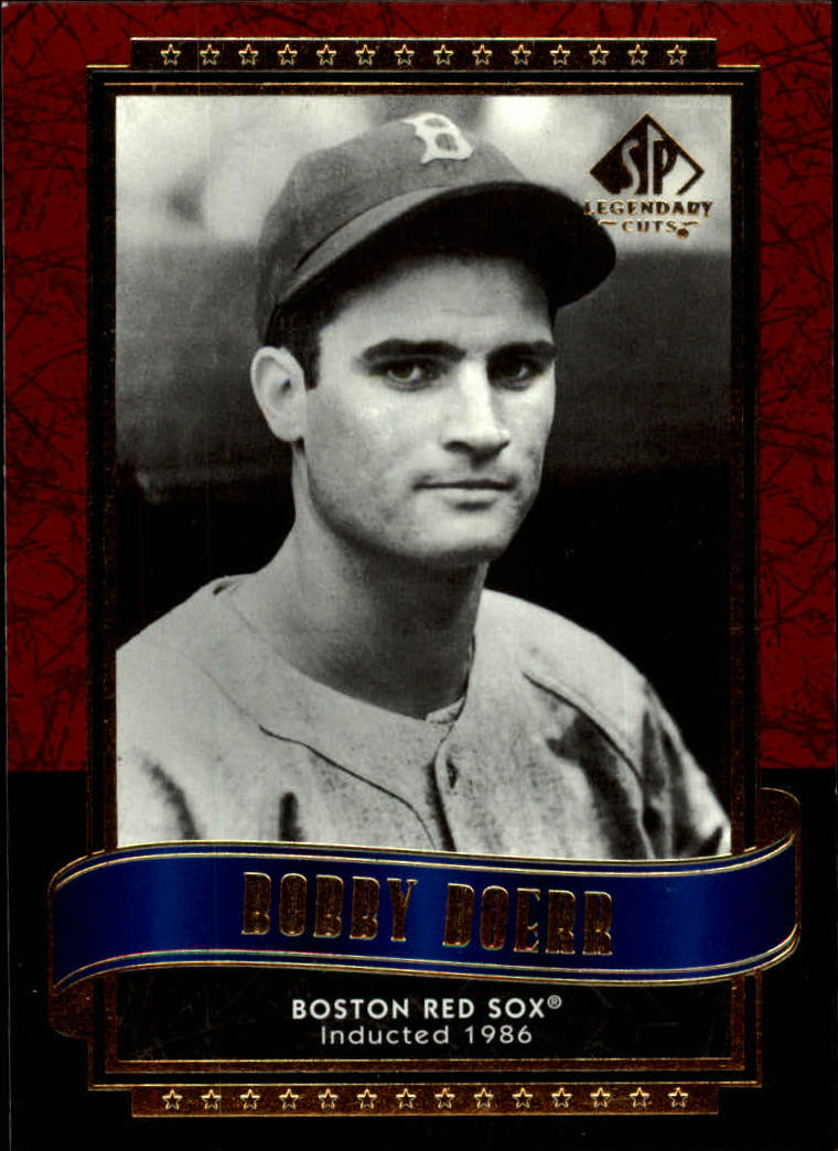 2003 SP Legendary Cuts #15 Bobby Doerr