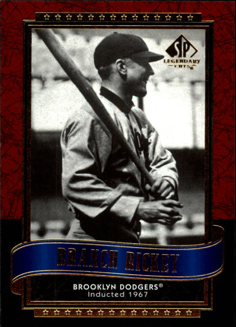 2003 SP Legendary Cuts #16 Branch Rickey