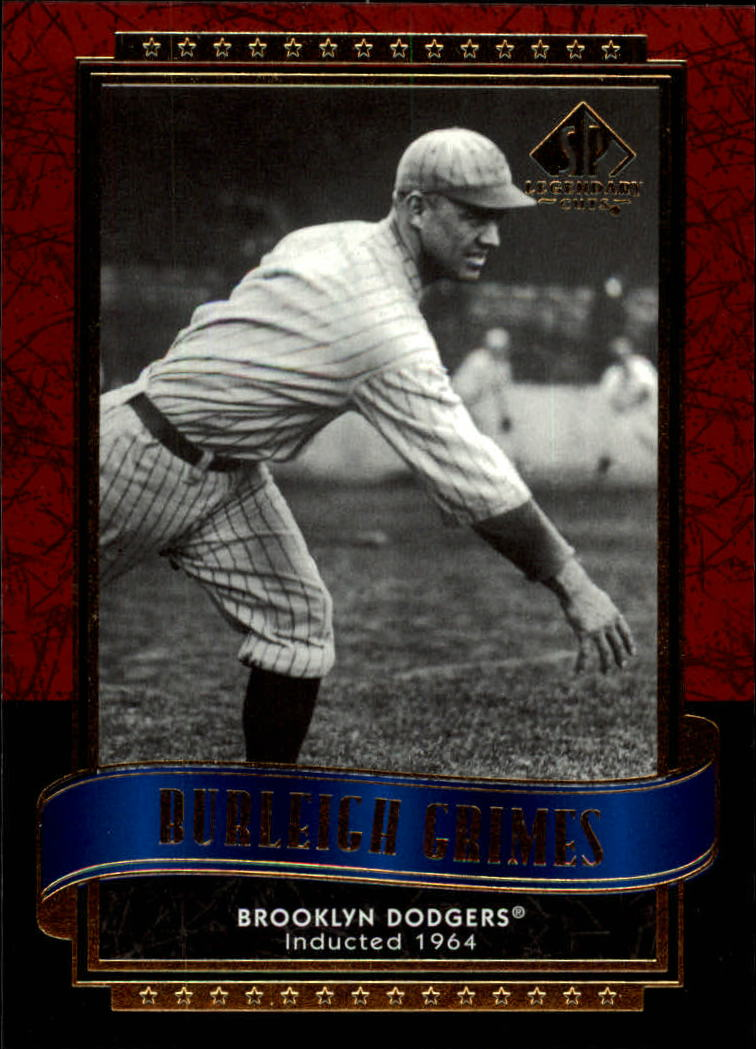 2003 SP Legendary Cuts #18 Burleigh Grimes