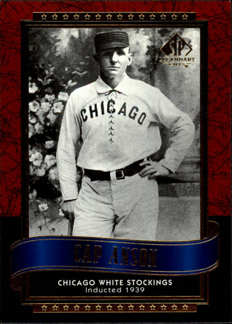 2003 SP Legendary Cuts #19 Cap Anson