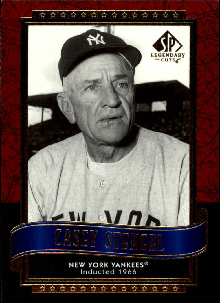 2003 SP Legendary Cuts #22 Casey Stengel