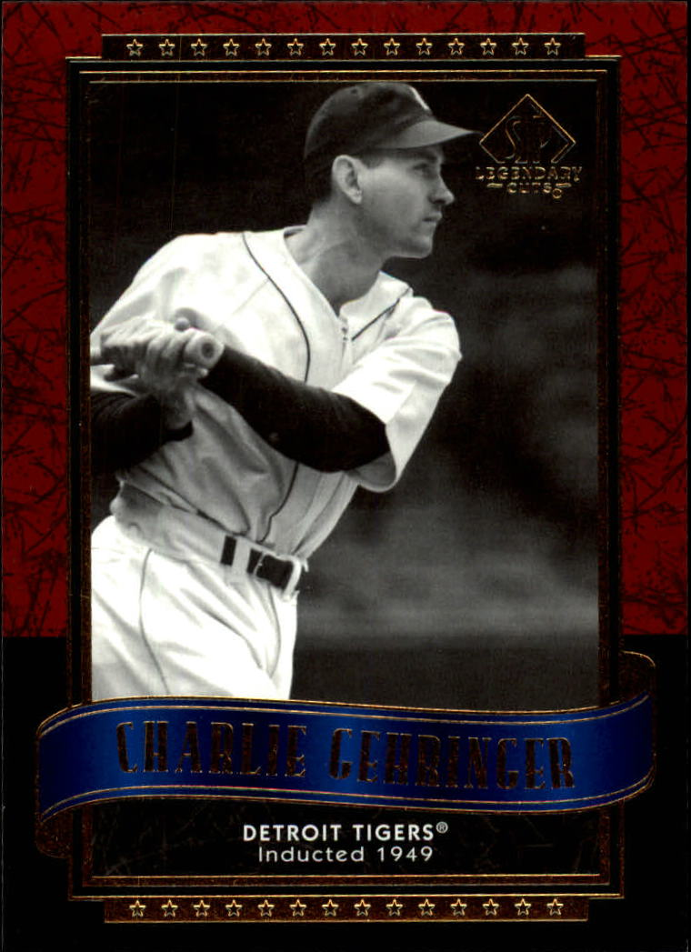 2003 SP Legendary Cuts #23 Charlie Gehringer