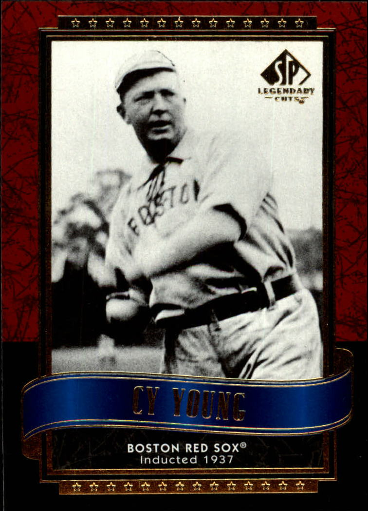 2003 SP Legendary Cuts #26 Cy Young