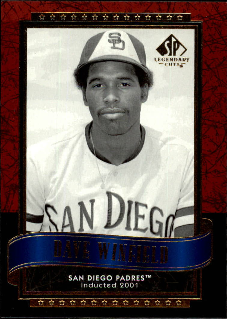 2003 SP Legendary Cuts #27 Dave Winfield