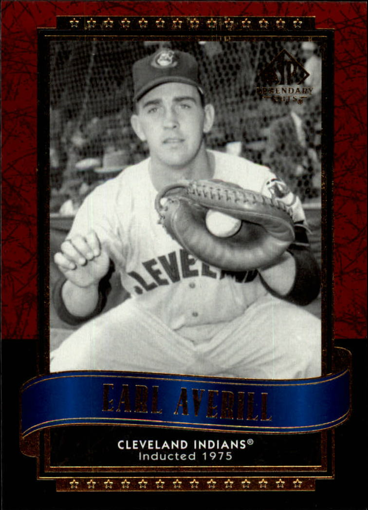 2003 SP Legendary Cuts #32 Earl Averill