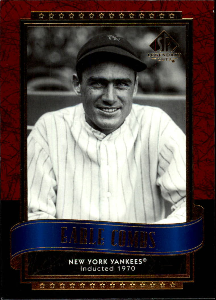 2003 SP Legendary Cuts #33 Earle Combs