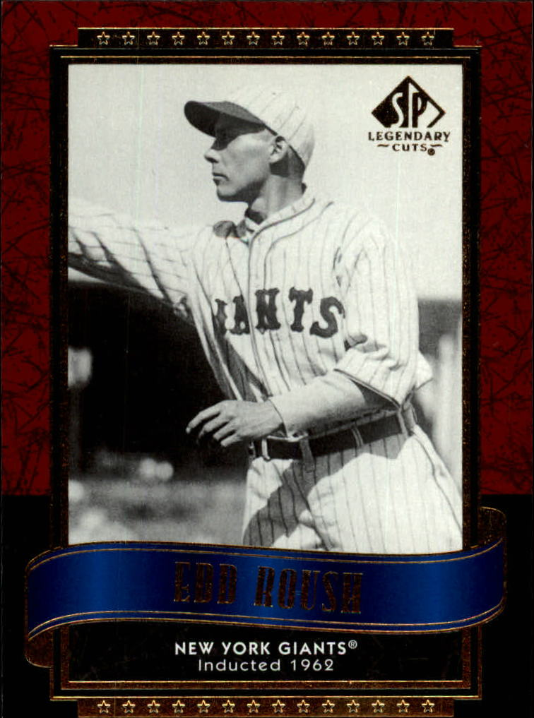 2003 SP Legendary Cuts #34 Edd Roush