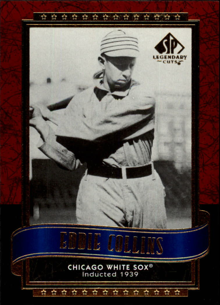 2003 SP Legendary Cuts #36 Eddie Collins