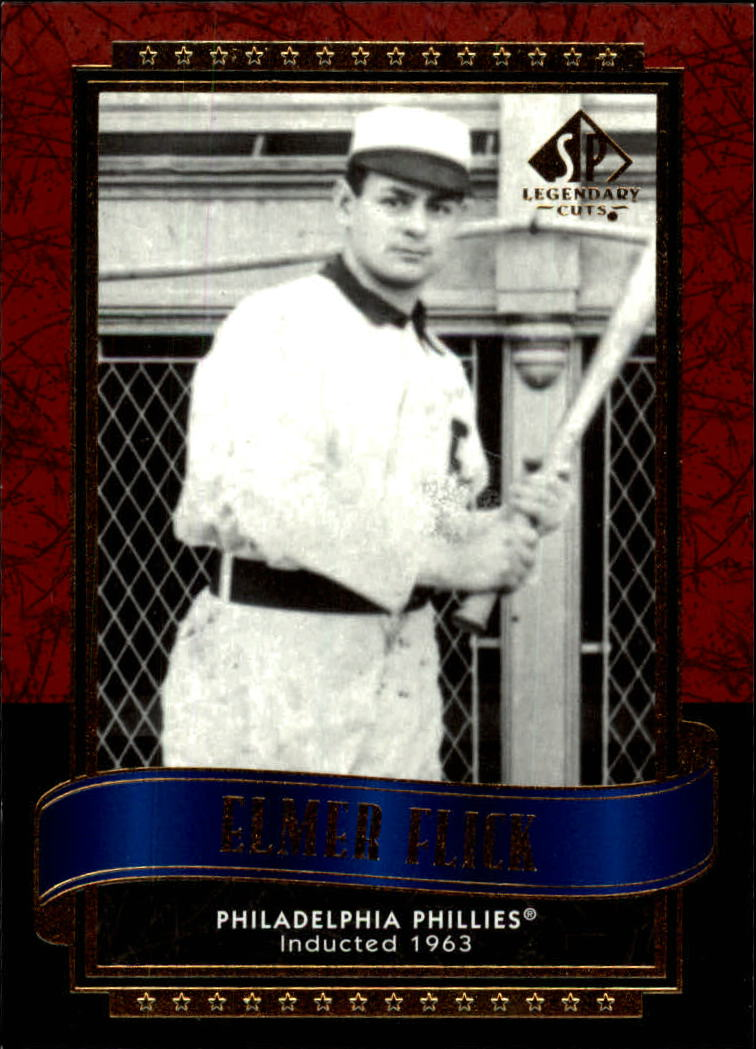 2003 SP Legendary Cuts #38 Elmer Flick