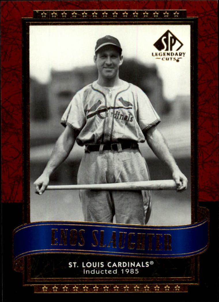 2003 SP Legendary Cuts #39 Enos Slaughter