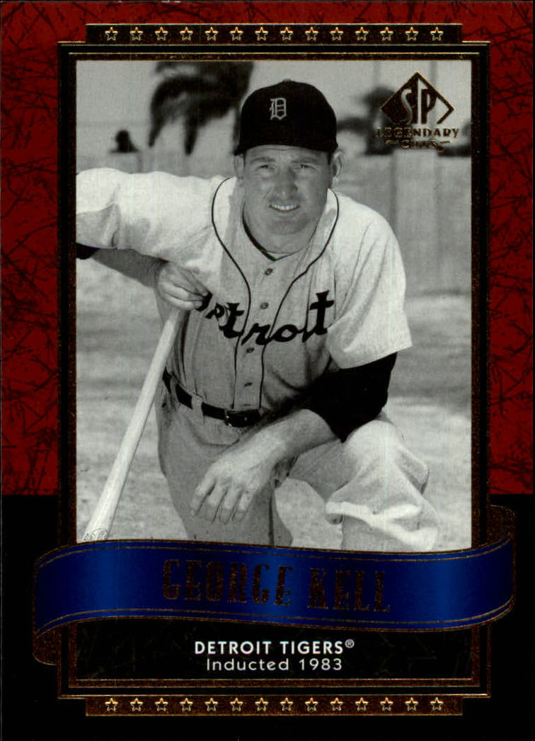 2003 SP Legendary Cuts #45 George Kell front image
