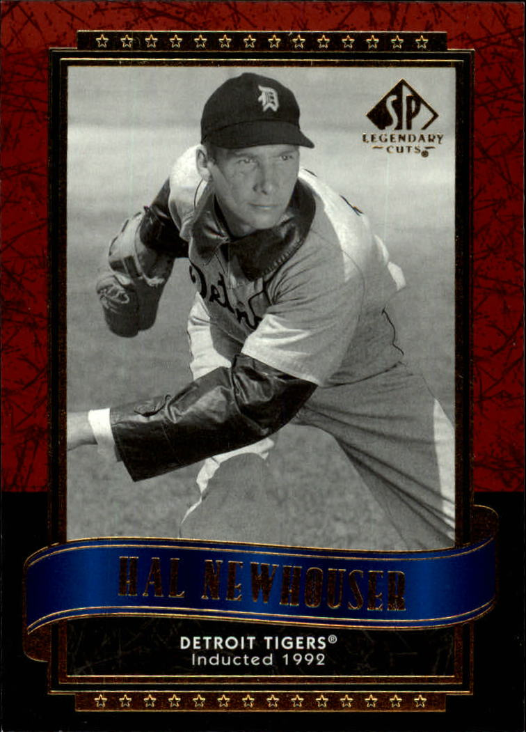 2003 SP Legendary Cuts #50 Hal Newhouser